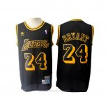 Camiseta Los Angeles Lakers Kobe Bryant #24 Retro Negro