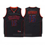 Camiseta NCAA Syracuse Orange Carmelo Anthony #15 Retro Negro