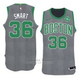 Camiseta Navidad 2018 Boston Celtics Marcus Smart #36 Verde