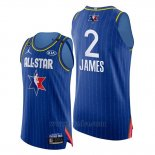 Camiseta All Star 2020 Western Conference Lebron James #2 Azul