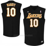 Camiseta Apodo Los Angeles Lakers Nashty #10 Negro