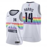 Camiseta Denver Nuggets Gary Harris #14 Ciudad Edition Blanco