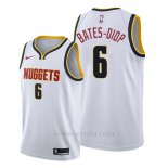 Camiseta Denver Nuggets Keita Bates-Diop #6 Association 2019-20 Blanco
