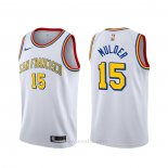 Camiseta Golden State Warriors Mychal Mulder #15 Classic Blanco