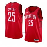 Camiseta Houston Rockets Austin Rivers #25 Earned 2018-19 Rojo