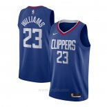 Camiseta Los Angeles Clippers Lou Williams #23 Icon 2020-21 Azul