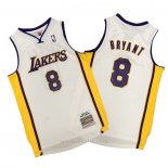Camiseta Los Angeles Lakers Kobe Bryant #8 Hardwood Classics Blanco
