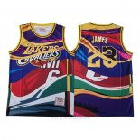 Camiseta Mitchell & Ness Big Face Lebron James