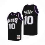 Camiseta Sacramento Kings Mike Bibby #10 Mitchell & Ness 2001-02 Negro