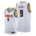 Camiseta Denver Nuggets Jerami Grant #9 Association 2019-20 Blanco