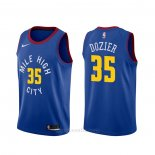 Camiseta Denver Nuggets P.j. Dozier #35 Statement Azul