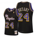 Camiseta Los Angeles Lakers Kobe Bryant #24 Reload Classic Hardwood 2020 Negro
