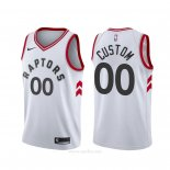 Camiseta Toronto Raptors Personalizada Association Blanco