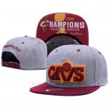 Gorra Cleveland Cavaliers 2016 Finals Champions Gris