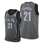 Camiseta Brooklyn Nets Wilson Chandler #21 Statement Edition Gris