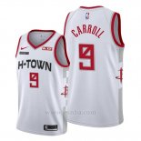 Camiseta Houston Rockets Demarre Carroll #9 Ciudad 2019-20 Blanco