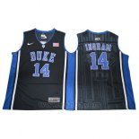 Camiseta NCAA Duke Blue Devils Brandon Ingram #14 Negro