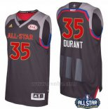 Camiseta All Star 2017 Golden State Warriors Kevin Durant #35 Negro