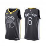 Camiseta Golden State Warriors Alen Smailagic #6 Statement 2019-20 Negro