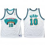 Camiseta Historic Retro Vancouver Grizzlies Mike Bibby #10 Blanco