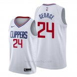 Camiseta Los Angeles Clippers Paul George #24 Association 2019-20 Blanco