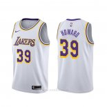 Camiseta Los Angeles Lakers Dwight Howard #39 Association 2019-20 Blanco