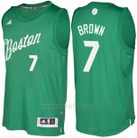 Camiseta Navidad 2016 Boston Celtics Jaylen Brown #7 Veder