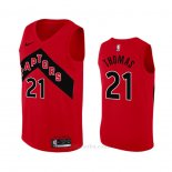 Camiseta Toronto Raptors Matt Thomas #21 Icon 2020-21 Rojo