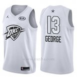 Camiseta All Star 2018 Oklahoma City Thunder Paul George #13 Blanco