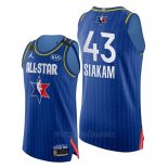 Camiseta All Star 2020 Eastern Conference Pascal Siakam #43 Azul