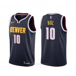 Camiseta Denver Nuggets Bol Bol #10 Icon Azul