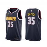 Camiseta Denver Nuggets P.j. Dozier #35 Icon Azul