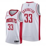 Camiseta Houston Rockets Robert Covington #33 Association 2019-20 Blanco