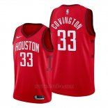 Camiseta Houston Rockets Robert Covington #33 Earned 2019-20 Rojo