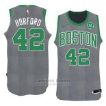 Camiseta Navidad 2018 Boston Celtics Al Horford #42 Verde