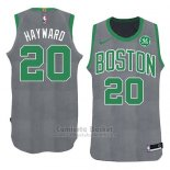 Camiseta Navidad 2018 Boston Celtics Gordon Hayward #20 Verde