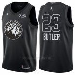 Camiseta All Star 2018 Minnesota Timberwolves Jimmy Butler #23 Negro