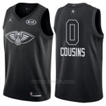 Camiseta All Star 2018 New Orleans Pelicans Demarcus Cousins #0 Negro