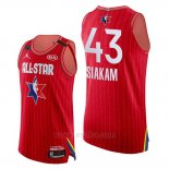 Camiseta All Star 2020 Eastern Conference Pascal Siakam #43 Rojo