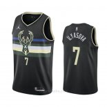 Camiseta Milwaukee Bucks Ersan Ilyasova #7 Statement 2020-21 Negro