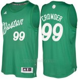 Camiseta Navidad 2016 Boston Celtics Jae Crowder #99 Veder