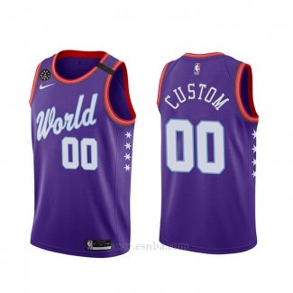 Camiseta 2020 Rising Star World Personalizada Violeta
