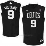 Camiseta Apodo Boston Celtics The Clinic #9 Negro