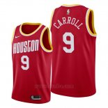 Camiseta Houston Rockets Demarre Carroll #9 Classic 2019-20 Rojo