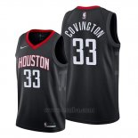 Camiseta Houston Rockets Robert Covington #33 Statement 2019-20 Negro