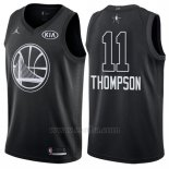 Camiseta All Star 2018 Golden State Warriors Klay Thompson #11 Negro