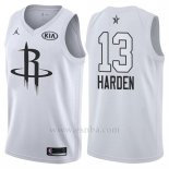 Camiseta All Star 2018 Houston Rockets James Harden #13 Blanco