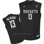 Camiseta Apodo Houston Rockets The Beard #13 Negro