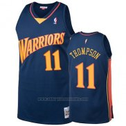 Camiseta Golden State Warriors Klay Thompson 2009-10 Hardwood Classics Azul