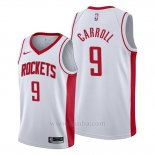Camiseta Houston Rockets Demarre Carroll #9 Association 2019-20 Blanco